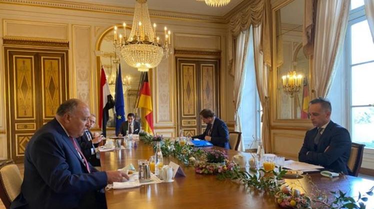 Egypt, German FMs review bilateral relations, regional developments
