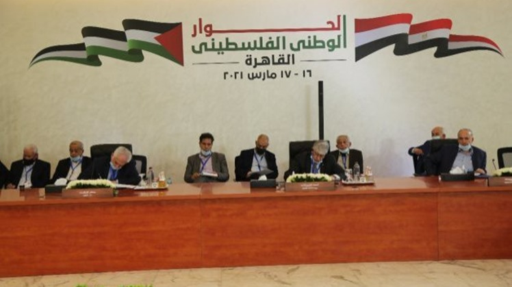 Palestinian parties sign a pact of honor in Cairo on Tuesday