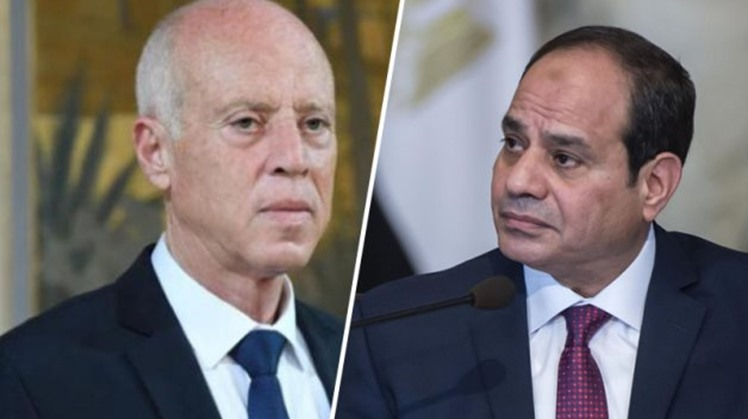 Egypt's president sends capable of congratulations to his Tunisian counterpart on Independence Day