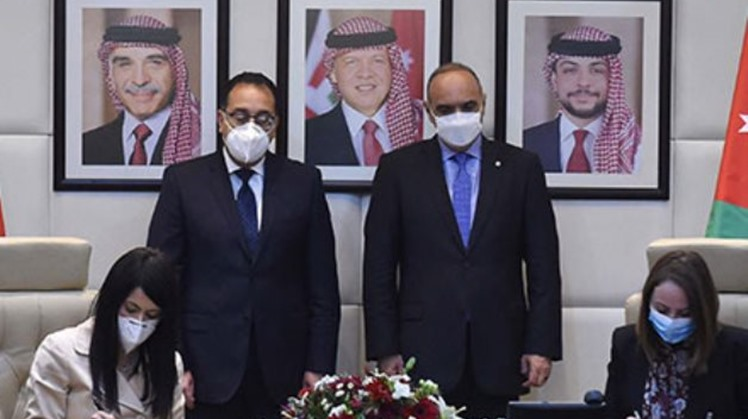 Egypt, Jordan sign documents to enhance cooperation