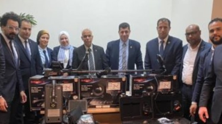 Cairo International Airport foils attempt to smuggle into Egypt seven gold and metal detectors