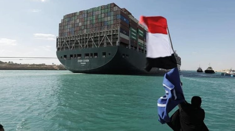 navigation to be resumed in Egypt's Suez Canal after 6 days of suspension