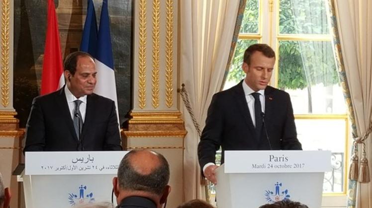Sisi, Macron discuss latest development of GERD, Libyan crisis