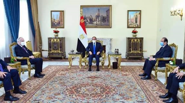 Egypt's Sisi asserts depth of Egypt-US ties in a meeting with Head of World Jewish Congress