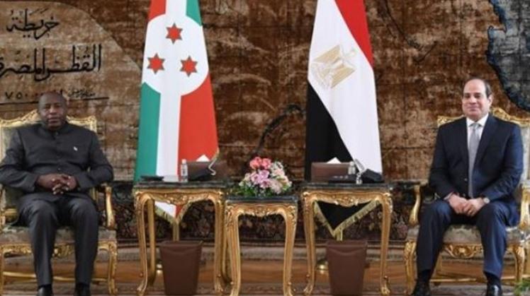 Burundi's PM lauds Egypt's distinguished international standing
