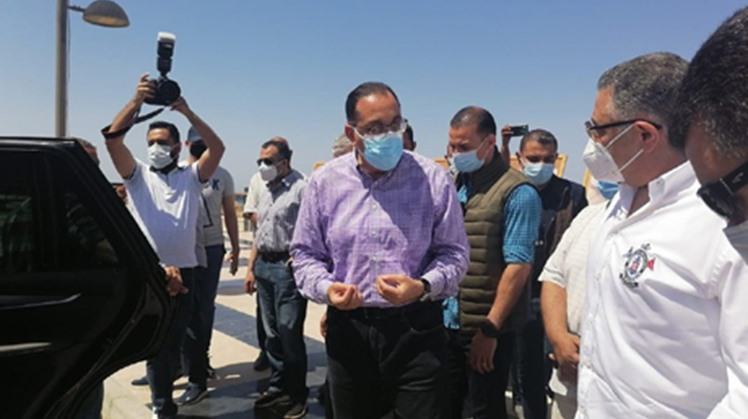 Egypt's Prime Minister Mostafa Madbouly inspected the Red Sea resort city of Hurghada under presidential directives to revamp the city to attract more tourists.