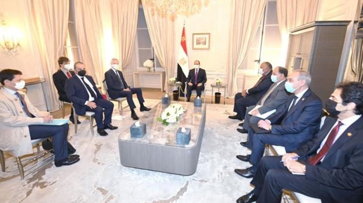 Egypt's President Abdel Fatah al-Sisi expressed his appreciation for the efforts of the French Ministry of Economy and Finance in boosting bilateral trade relations.