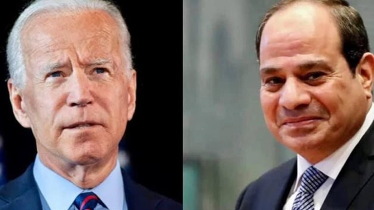 1st phone call: Sisi, Biden agree to enhance coordination to contain escalation in Palestine