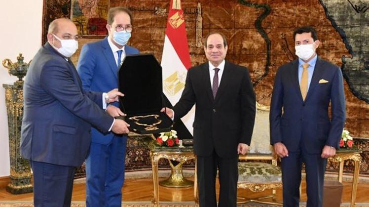 Egypt's Sisi awarded ANOCA medal of merit
