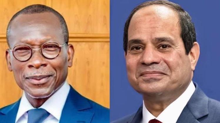 Egypt's Sisi congratulates Benin's President Talon on re-election