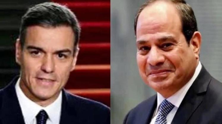 Egypt's Sisi, Spanish PM discuss economic, diplomatic cooperation