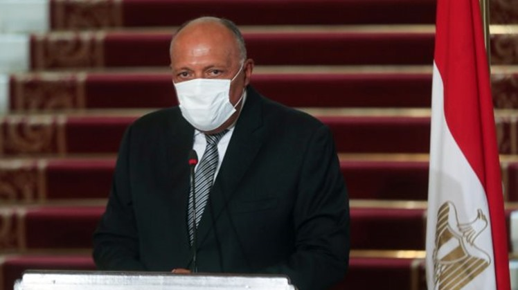 Egypt's FM, Merkel's foreign policy adviser review Cairo's efforts to reach binding deal on GERD