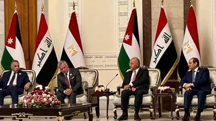 US welcomes historic Baghdad summit by leaders of Egypt, Jordan, Iraq forming alliance hoped to bring stability, prosperity