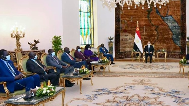 Sisi asserts Egypt's stance on GERD entailing legally-binding agreement answering development rights