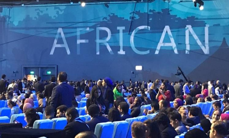 AU's legal counsel opens Africa 2063 in Cairo's Gezira, Friday