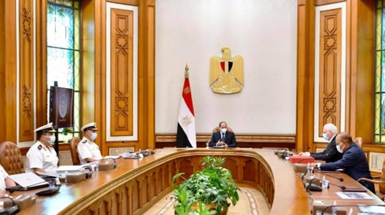 Egypt's Sisi discusses with Lürssen CEO means to develop Egypt's maritime industry