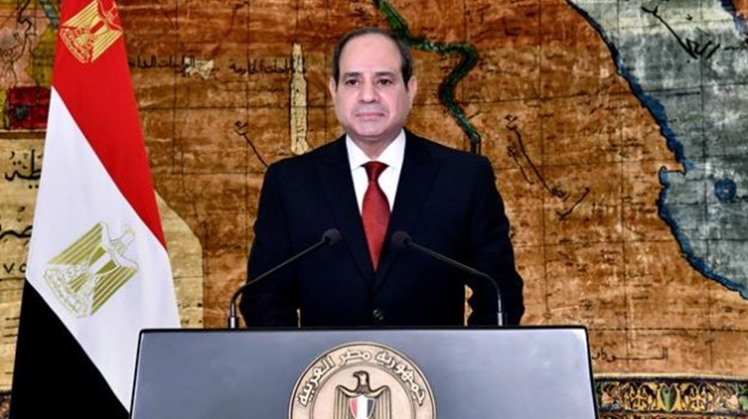 Egypt's President Abdel-Fattah El-Sisi held a bilateral discussion with Qatar's Sheikh Tamim bin Hamad Al Thani on Saturday in Baghdad