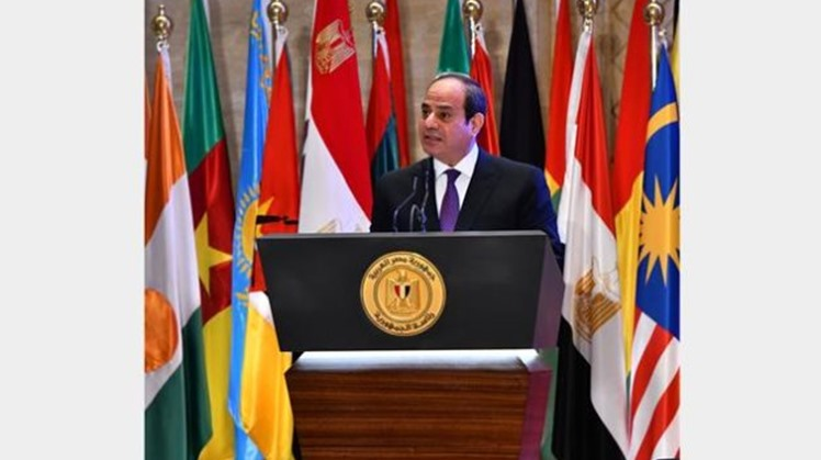 Constitutional court president says Sisi keen on activating online litigation