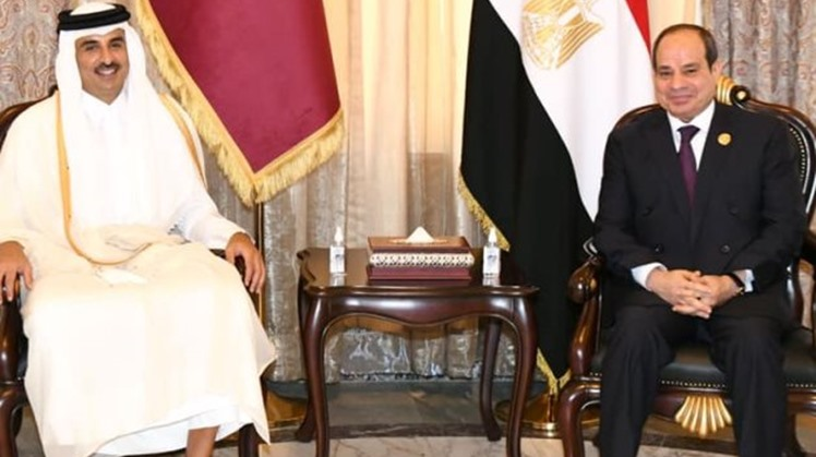 Egypt-Qatar committee on 'outstanding issues' holds a meeting in Cairo