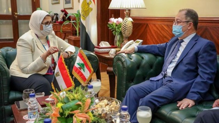 Egypt ready to meet Lebanese health sector requirements, provide Lebanon with COVID-19 vaccine doses