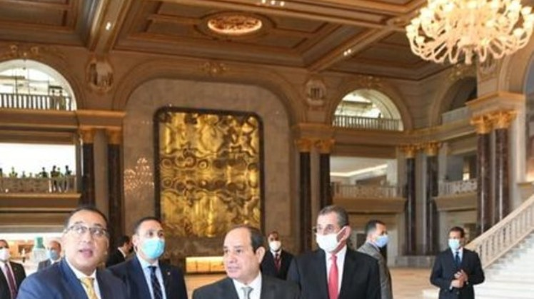 Egypt's Sisi visits Middle East's largest Opera House