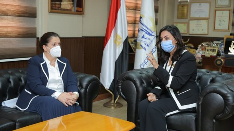 UNDP regional director praises Egypt's steps to enshrine women as indispensable partners in meeting with NCW chief
