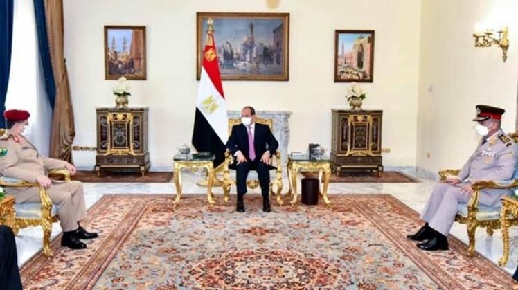 Egypt's Sisi affirms backing political solution in Yemen