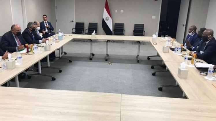 Egypt's Foreign Minister Sameh Shoukry hold meeting on Thursday with Niger's counterpart in NYC