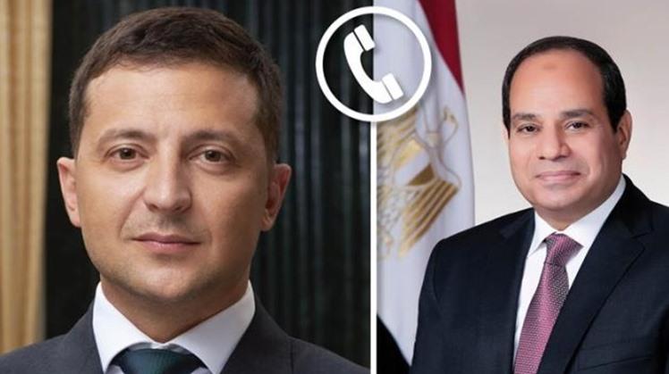 Egypt's Sisi receives phone call from Ukrainian President