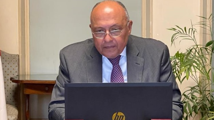 Egypt's FM Shoukry asserts support for Libya