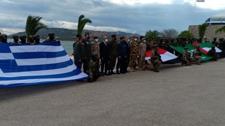 """Egyptian special forces participate in """"HERCULES-21"""" quadruple joint training in Greece"""