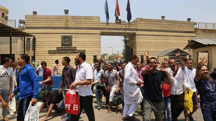 Egypt's Sisi pardons some inmates on the 6th of October War victory anniversary