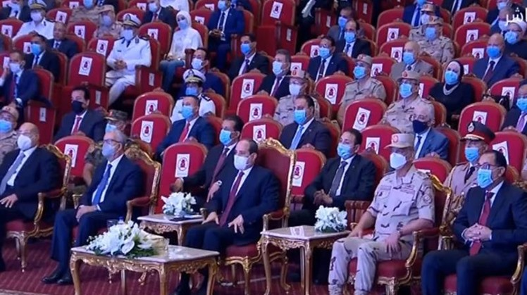 Sisi attends Egyptian Armed Forces celebrations of 6th of October War victory