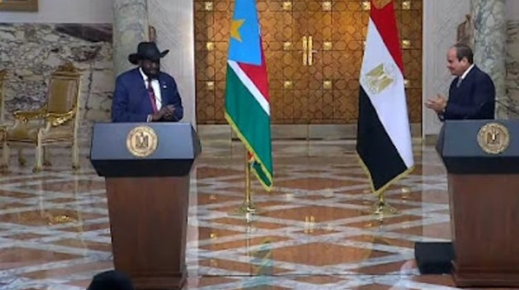 South Sudan's Salva Kiir in Cairo visit:  Ethiopian PM failed to keep negotiations promise
