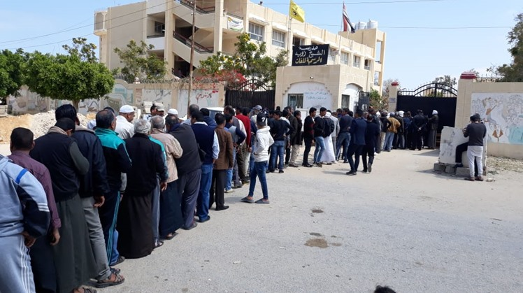 High voter turnout in Sinai's Sheikh Zoeid