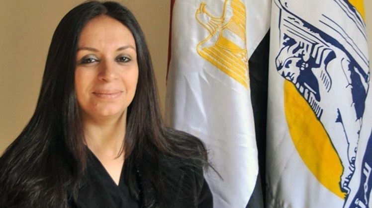 Head of the National Council for Women (NCW) Maya Morsy