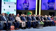 The Egyptian president urges cooperation between African nations in the face of corruption at the inaugural session of the African Anti-Corruption Forum (AACF) in Sharm El-Sheikh – Press photo