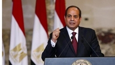 Egyptian President Abdel Fatah al Sisi has been awarded on Saturday the Semper Opera Ball's Dresden Medal of St. George in recognition of his efforts to serve peace in Africa, reported Germany's DPA news agency.