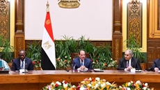 President Abdel Fatah al-Sisi has emphasized African constitutional courts' role in developing their respective countries