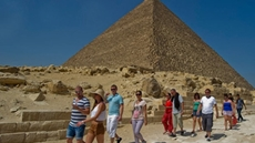 Egypt's tourism sector recorded highest level of revenues in history, reaching $13.03 billion in 2019, compared to 2010's $12.5 billion and 2018's $11.6 billion, the Central Bank of Egypt (CBE) said Tuesday.