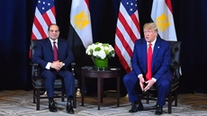 Egypt's President Abdel Fattah El Sisi offered his condolences to US counterpart Donald Trump after the death of his brother Robert Trump