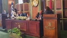 The Egyptian Parliament's constitutional committee on Monday approved a maritime demarcation agreement to establish an exclusive economic zone between Egypt and Greece