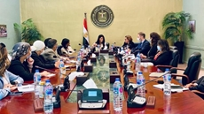 Egypt's Minister of International Cooperation Rania Al-Mashat discussed fostering partnership between the African country and the United Nations