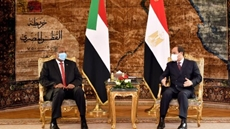 Egyptian President Abdel-Fattah al-Sisi and Chairman of Sudan's Sovereign Council Abdel-Fattah Al-Burhan stressed their countries' adherence to a binding deal over the filling and operation of the disputed Grand Ethiopian Renaissance Dam (GERD).