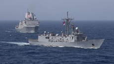 Egyptian, U.S. naval forces conduct joint exercises in Red Sea