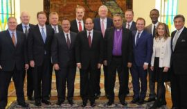 President el-Sisi Meets with Delegation of Leaders from Evangelical Community