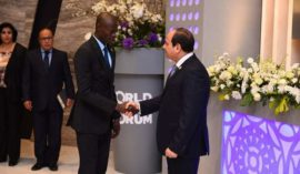 Thank you for understanding the importance of youth in our future, Senegal Youth Min. tells Sisi