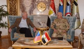 "US Secretary of the Navy hails Egypt as ""a vital regional partner"""
