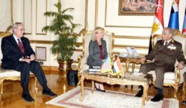 Secretary Nielsen discusses transnational threats with Egyptian officials