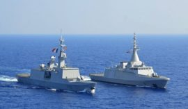Egyptian, French navies conduct training at Red Sea base